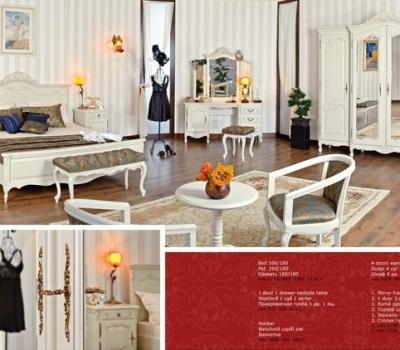 dormitor ivoire